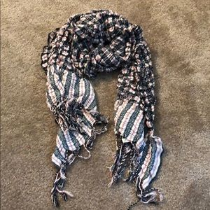 Lucky brand plaid scarf